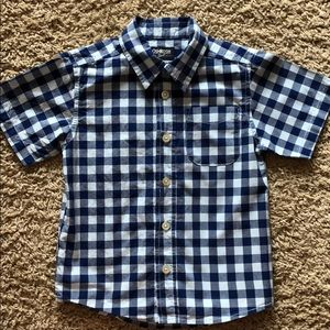 OshKosh B'Gosh button down short sleeve shirt